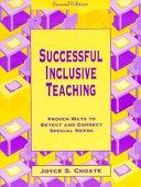 Successful Inclusive Teaching Book PDF