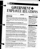 Government Employee Relations Report