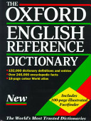 The Oxford English Reference Dictionary Book