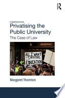 Privatising the Public University