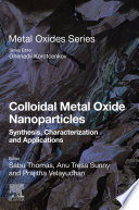 Colloidal Metal Oxide Nanoparticles Book