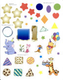 Disney Winnie the Pooh My First Shapes Book
