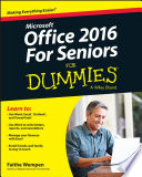 Office 2016 For Seniors For Dummies