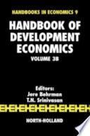 """Handbook of Development Economics"" by Hollis Burnley Chenery, T.N. Srinivasan, J. Behrman, Dani Rodrik, Mark R. Rosenzweig, T. Paul Schultz, John Strauss"