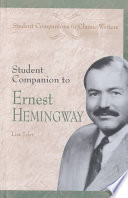 Student Companion To Ernest Hemingway