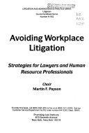 Avoiding Workplace Litigation