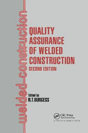 Quality Assurance of Welded Construction Book