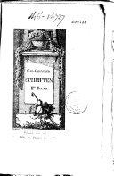 Oeuvres. S. Gessners Schriften