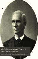 Catholic Memoirs of Vermont and New Hampshire
