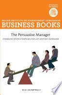 Iima The Persuasive Manager