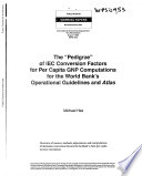 """The """"Pedigree"""" of IEC Conversion Factors for Per Capita GNP Computations for the World Bank's Operational Guidelines and Atlas by Michael Hee PDF"""