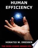 Human Efficiency