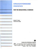 Straightforward Statistics for the Behavioral Sciences