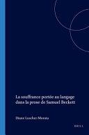 Pdf La souffrance portée au langage dans la prose de Samuel Beckett Telecharger