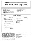 Lifelines, the Software Magazine
