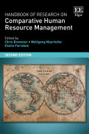 Handbook of Research on Comparative Human Resource Management