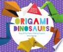 Origami Dinosaurs  Easy   Fun Paper Folding Projects