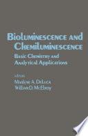 Bioluminescence And Chemiluminescence Book PDF