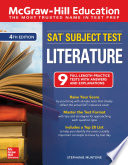 Mcgraw Hill Education Sat Subject Test Literature Fourth Edition
