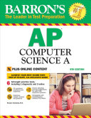 Barron s AP Computer Science A with Online Tests