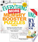 The Everything Memory Booster Puzzles / The Everything More Memory Booster Puzzles