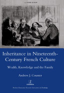 Pdf Inheritance in Nineteenth-century French Culture Telecharger