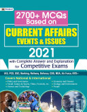 Pdf 2700+ MCQs BASED ON CURRENT AFFAIRS EVENTS & ISSUES 2021 Telecharger