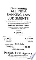 All India Banking Law Judgments
