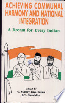 Achieving Communal Harmony and National Integration Book