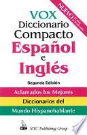 Vox Diccionario Compacto Español E Inglés  : Inglés-español/español-inglés