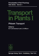 Transport in Plants I
