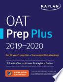 OAT Prep Plus 2019 2020