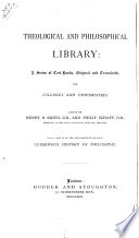 A history of philosophy, from Thales to the present time. Tr. by G.S. Morris, with additions by N. Porter