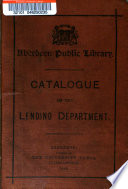 Catalogue Of The Lending Department