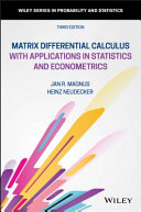 Matrix Differential Calculus with Applications in Statistics and Econometrics [Pdf/ePub] eBook
