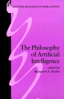 The Philosophy of Artificial Intelligence Book