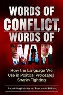 Words of Conflict  Words of War