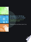 Professional Academic writing in Global Context