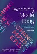 Teaching Made Easy Pdf/ePub eBook