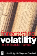 Forecasting Volatility in the Financial Markets Book