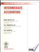 Intermediate Accounting, Update