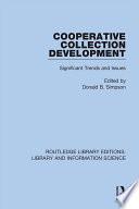 Cooperative Collection Development
