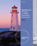 Business Law Principles for Today's Commerical Environment
