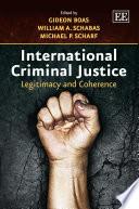 International Criminal Justice Book