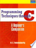 Programming Techniques Through C Book