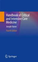 Handbook of Critical and Intensive Care Medicine