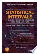 Statistical Intervals