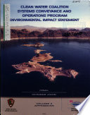 Clean Water Coalition System Conveyance and Operation Program
