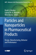 Pdf Particles and Nanoparticles in Pharmaceutical Products Telecharger