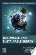 Renewable and Sustainable Energy